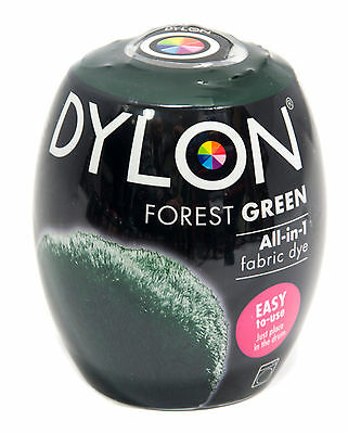 Dylon Forest Green Machine Dye Pods No.9 Fabric Dye (Discount for Qty)