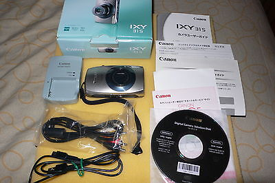 Canon PowerShot IXY 31S 12.1 MP Digital Camera -JAPANESE IMPORT & TOUCH-SCREEN