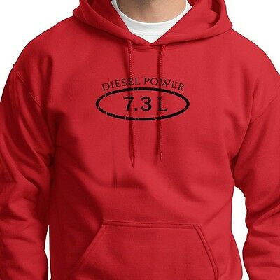 Diesel Power 7.3L Funny Truck T-shirt Ford stroke Engine Dodge Hoodie Sweatshirt