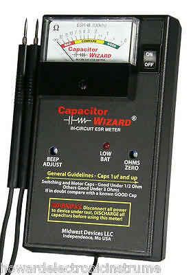 Capacitor Wizard (CAP1B) In-Circuit ESR Meter  NEW!