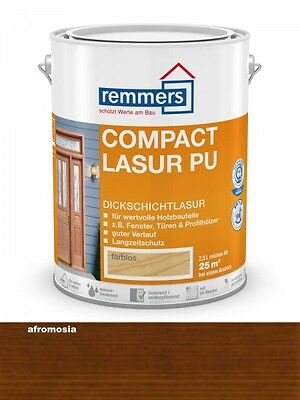 Remmers Compact-Lasur PU Afromosia 750ml