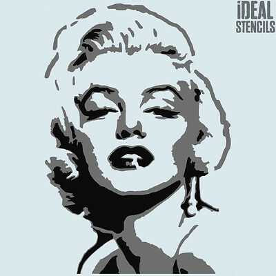 Marilyn Monroe Multi layer stencil Art Home Decor Reusable ideal paint Stencils
