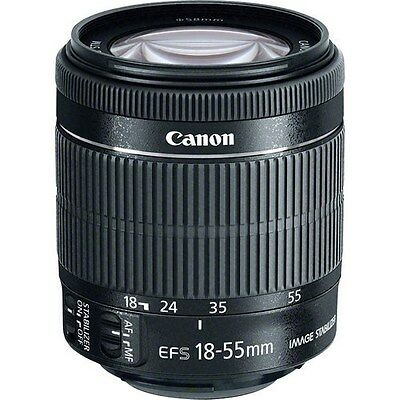 BNIB Canon EF-S 18-55mm f/3.5-5.6 IS STM Lens BRAND NEW with front and rear caps