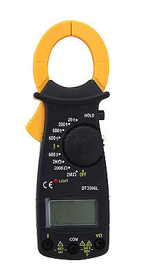 AC/DC Multimeter Digital LCD Clamp Current Meter Accurate Electronic Tester