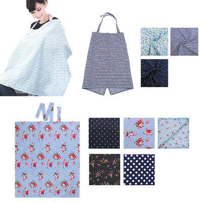 Breastfeeding Cover Feeding baby Nursing Udder Apron Women Mum Shawl Cloth -AU