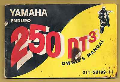 Yamaha 250 Dt3 Owner's Manual