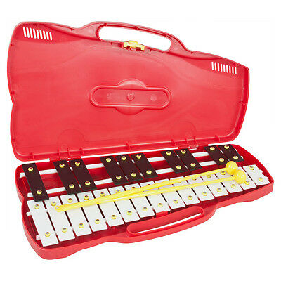 Percussion Workshop KB13 25 Note Chromatic Glockenspiel with Case & 2 Beaters