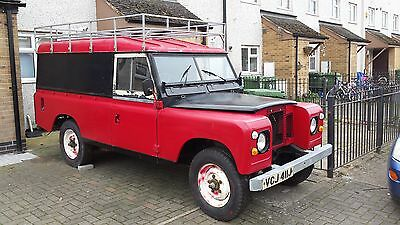 Land Rover Series 2A - Project, 2.25 diesel, 110, LWB, Tax Exempt 1971