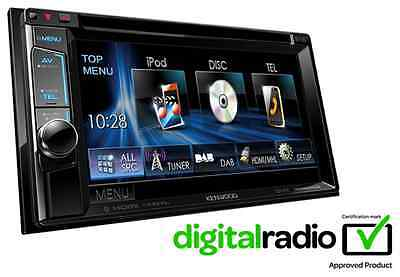 Kenwood DDX5015DAB Double Din Car Stereo DAB Mp3 AUX USB iPod iPhone