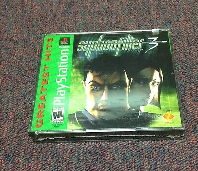Syphon Filter 3  (PlayStation, 2001) Brand New Factory Sealed