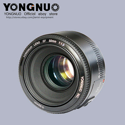 YONGNUO Large Aperture Auto Focus LensYN EF 50MM F1.8  For Canon EOS Camera