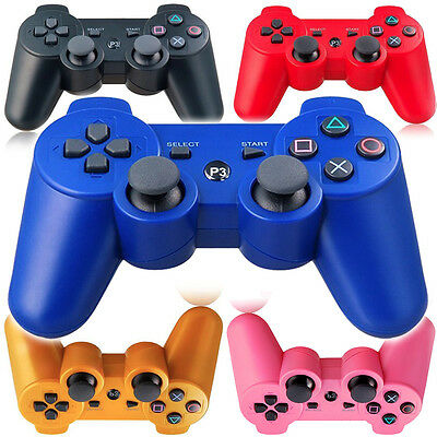 NEW PS3 Six Axis DualShock Bluetooth Wireless Controller for PlayStation 3