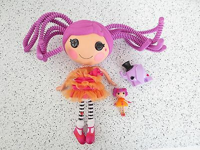 Lalaloopsy Doll  Silly Hair Peanut Big Top  Mini  Pet Elephant Clothes Shoes W16