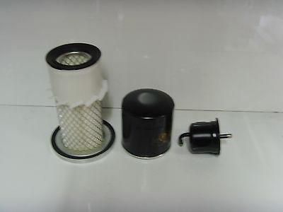 Cushman Haulster Filter Service Kit - Air, Oil, Fuel Filters