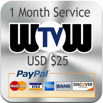 WOWTV  for ROKU PLAYER - $25 USD 1 month