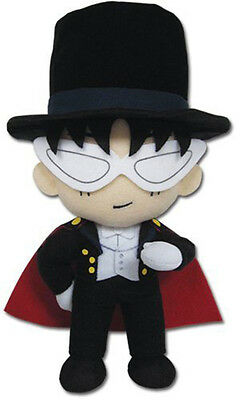 """New Authentic ~ 9"""" Tuxedo Mask Plush Toy Doll Sailor Moon GE-87532 Great Eastern"""