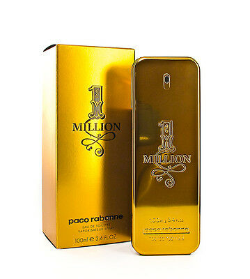1 ONE MILLION * PACO RABANNE * Cologne for Men * 1.7 / 3.4 / 6.7 Oz * EDT * NIB