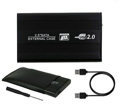"""2.5"""" SATA to USB HARD DRIVE EXTERNAL CADDY HD CASE ENCLOSURE FOR PC LAPTOPS"""