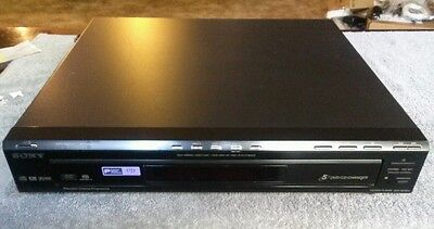 Sony DVP-NC80V Digital Component 5-Disc Changer Video CD/DVD Player *No Remote*