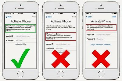 iCloud Activation Lock Removal Service,  Clean IMEI only