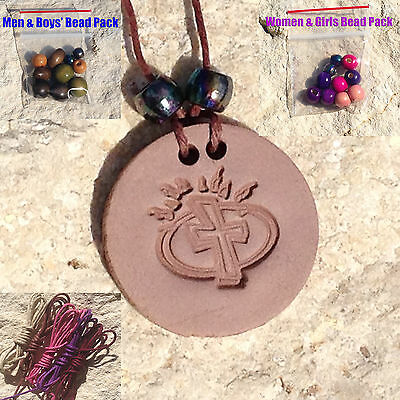 New 1 Christian Cross Clay Essential Oil Pendant Diffuser Necklace Aromatherapy
