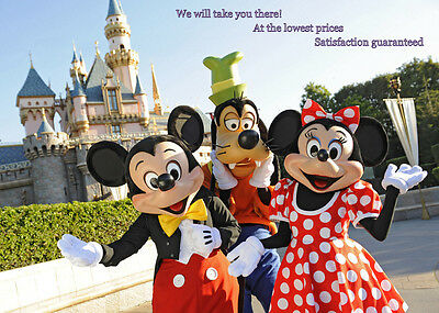 Disneyland 1 Day Park Hopper-Lowest Price-$145A / $139C-Discount Coupon ONLY