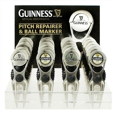 Guinness Official Merchandise Gift - Pitch Divot Repairer & Ball Marker - Club