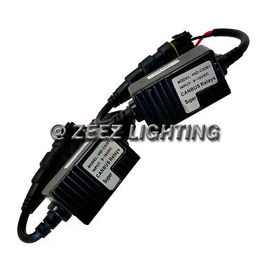 Universal HID Canbus Decoder Anti-Flicker Bulb Out Error Free Warning Canceller