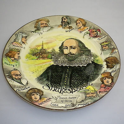 Royal Doulton Series Ware SHAKESPEARE Rack Plate