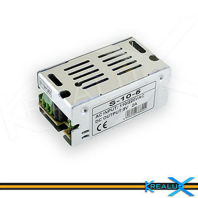 H501 alimentatore 5V 1A 5W switching stabilizzato LED 3528 5050 5630