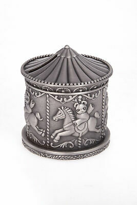 Carousel Money Box - Great Gift For Baby Shower, Birth, Christening Or Birthday!