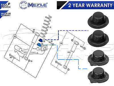For Mercedes A-Class W168 97-04 Rear Coil Road Spring Base Plate Rubber Stopper