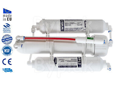 3 Stage RO Reverse Osmosis Water Filter for Tropical and Marine Fish 75 GPD
