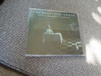 The Beautiful South Everybody's Talkin' RARE CD Single