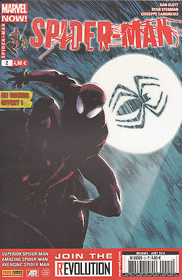 SPIDER-MAN N° 2 Marvel Now France 4EME Série Panini COMICS