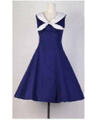 VESTIDO STUNNING PIN UP 1940/50s STYLE FULL SWING/JIVE DRESS ROCKABILLY