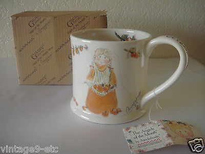 "New Gnomy's Diaries by Annekabouke Angel of the Month ""October"" Lg Coffee Mug!"
