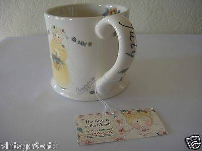"New Gnomy's Diaries by Annekabouke Angel of the Month ""July"" Lg Coffee Mug!"