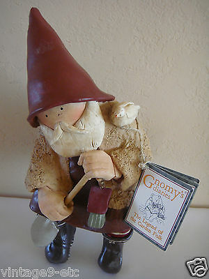 "New GNOMY'S DIARIES BY ANNEKABOUKE ""Gnomy With Shovel"" Figurine"