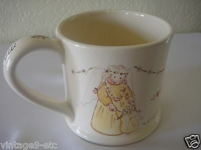 "New Gnomy's Diaries by Annekabouke Angel of the Month ""May"" Lg Coffee Mug!"