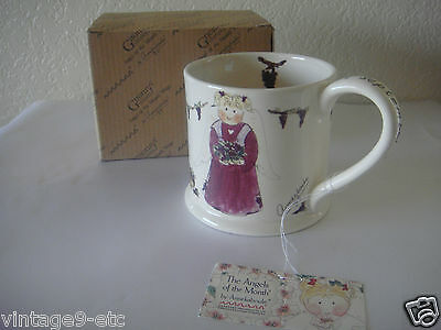 "New Gnomy's Diaries by Annekabouke Angel of the Month ""September"" Lg Coffee Mug!"