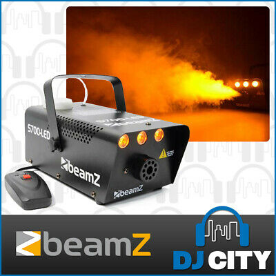 Beamz S700-LED 700W Smoke Machine with LED Flame Effect Disco Party Light FX