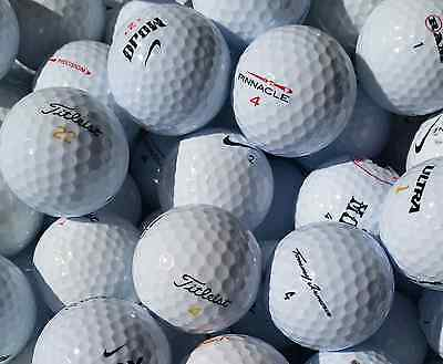 200 x MIXED BRAND GOLF BALLS (Grade 1&2) * Buy Bulk & Save! *