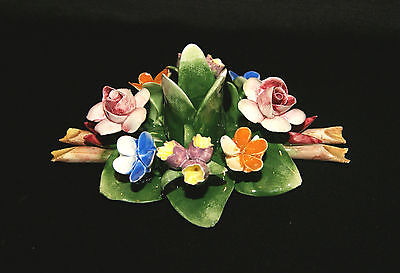 MIB CAPODIMONTE Porcelain Flower Lily Pad - Made In Italy