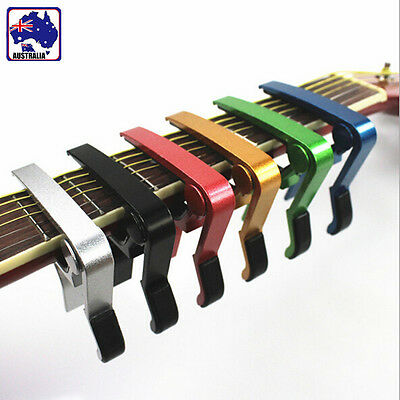 5Colors Guitar Capo GTI Aluminum Spring Trigger Electric Acoustic Clamp SMUGI97