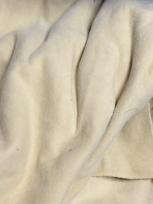 """Vintage camel beige Soft Brushed Sueded Cotton Upholstery Quilting Fabric 42""""BTY"""