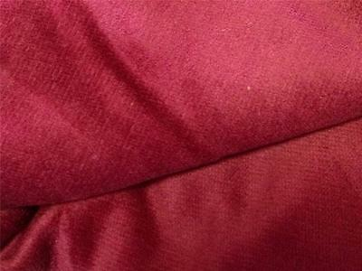 """Vintage deep dark wine Soft Brushed Cotton Upholstery Quilting Fabric 46""""x 34"""""""