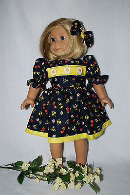 """Doll Clothes fit 18""""American Girl Dolls Handmade in the USA.by Grandma ,OOAK"""