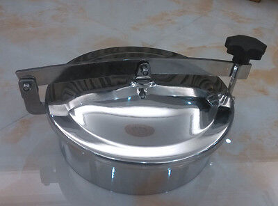 Sanitary stainless steel manhole, size:300mm ,SS304