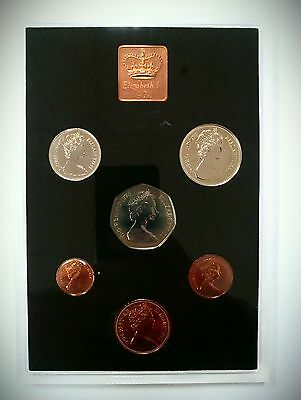 1978 - Coinage Of Great Britain / Northern Ireland - Royal Mint Proof Set ...!!